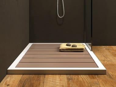 Slatted rectangular Luxolid® shower tray GADO