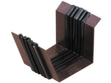 Giunto assemblato per canale di gronda a doppia parete GAG2