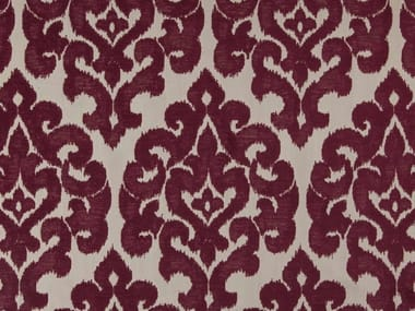 Damask chenille and polyester fabric GAHERIS