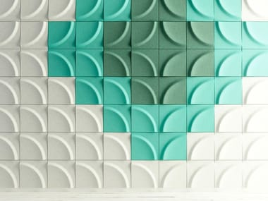 Polyester Decorative acoustic panel GAIA