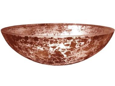 Countertop round glass washbasin GALA