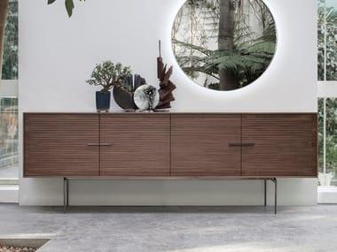 Walnut sideboard with doors GALATEA