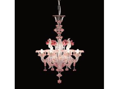 Swing 275 murano glass chandelier by multiforme classic style handmade glass chandelier galliano murano glass chandelier aloadofball Images