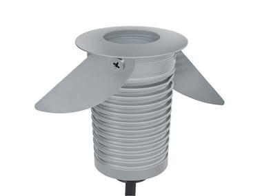 Faretto per esterno a LED in acciaio inox da incasso GAMMA