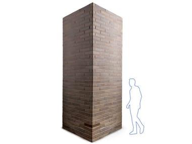 Monolithic architectural element GAMMASTONE BRICK AIR