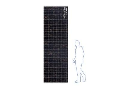 Glass or ceramic mosaic panel GAMMASTONE MOSAIC AIR