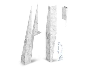 Natural stone facade monolithic element GAMMASTONE NATURAL AIR
