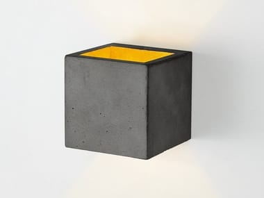 Cement wall lamp GANTLIGHTS - [B9] DARK