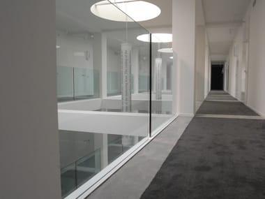 Glass Window railing GARDA FS
