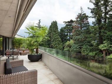 Glass Window railing GARDA MINI 200