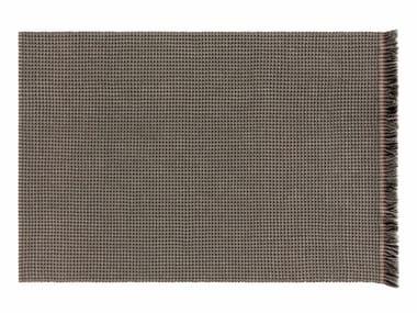 Patterned rectangular polypropylene outdoor rugs GARDEN LAYERS GREEN | Rectangular rug