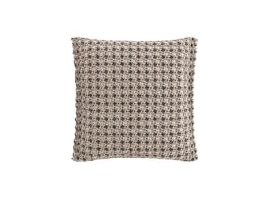 Motif square outdoor polypropylene cushion GARDEN LAYERS TERRACOTTA   Square cushion