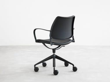 Polypropylene task chair with 5-Spoke base GAS | Polypropylene task chair