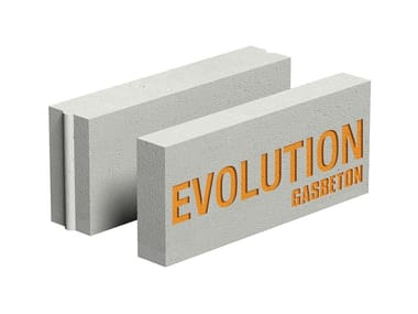 Lightweight concrete block for internal partition GASBETON® EVOLUTION
