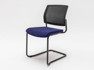 Cantilever upholstered chair GAYA | Cantilever chair
