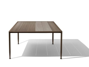 Square garden table GEA | Square table