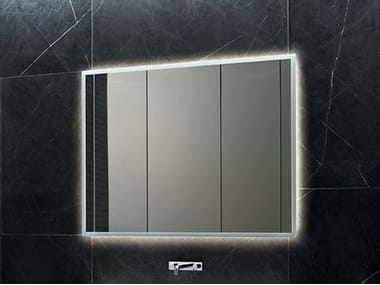 Bathroom mirror with cabinet ONE | Mirror