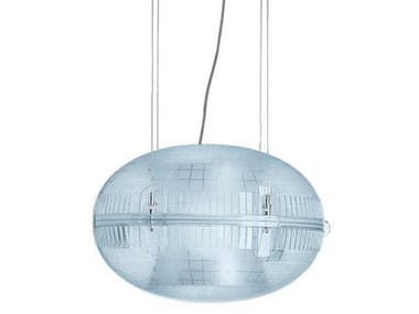 LED polycarbonate pendant lamp GEM