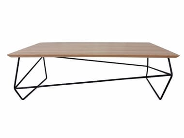 Contemporary style rectangular coffee table GEMMA | Rectangular coffee table