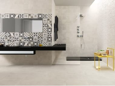 Pavimento/rivestimento in gres porcellanato effetto cemento GENESIS