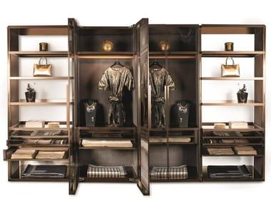 Cabina armadio componibile in alluminio GENESIS | Cabina armadio