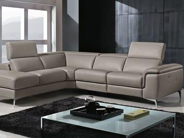 Corner recliner sofa GENISIA