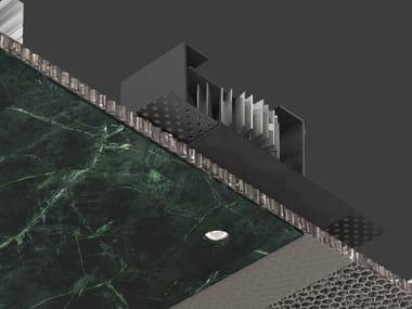 Foco de techo LED encastrable de aluminio de estilo moderno para el techo GENIUS BASIC NAKED
