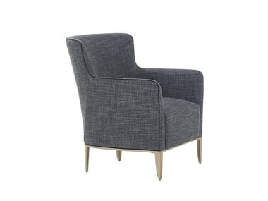 Fabric armchair with armrests GENTLEMAN | Armchair with armrests