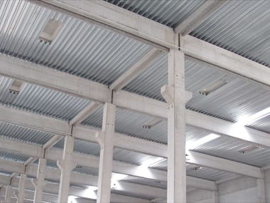 Corrugated and undulated sheet steel GENUS 60 SECCO
