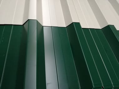 Metal sheet and panel for roof GENUS 950/35