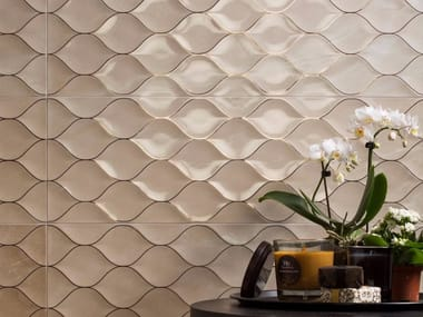 Indoor double-fired ceramic wall tiles GENUS | Wall tiles