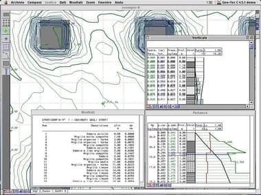 Processing geotechnical, penetrometer test GEO-TEC