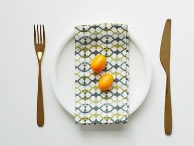 Linen napkin GEOMETRICAL PRINT | Napkin
