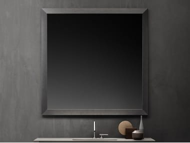 Square framed wall-mounted mirror GEORGE | Mirror