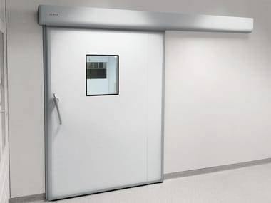 Sliding Automatic entry door GEZE HYGIENIC DOOR