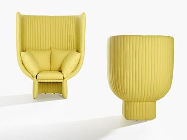 High-back armchair GHISOLFA | High-back armchair