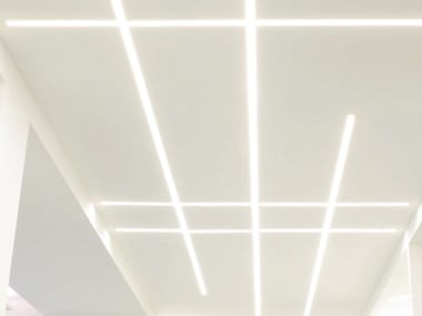 Linear lighting profile for LED modules GHOST
