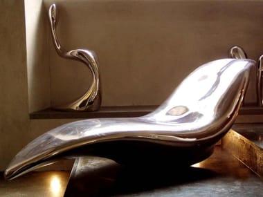 Glass-fibre Chaise longue GHOST | Chaise longue