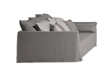 4 seater garden sofa with removable cover GHOST OUT 16