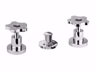 3 hole bidet tap with Swarovski® crystals GIÒ CRYSTAL - GIÒ - F3613A/S