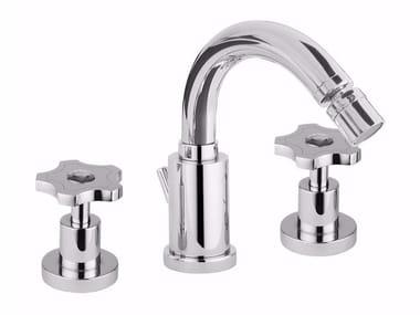 3 hole bidet tap with swivel spout GIÒ CRYSTAL - GIÒ - F3645A/S
