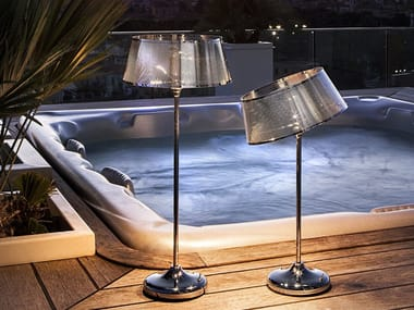LED table lamp with rechargeable battery GIADINA | Table lamp