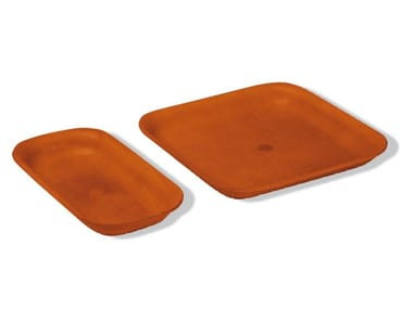 Tanned leather pin tray GIANO | Pin tray