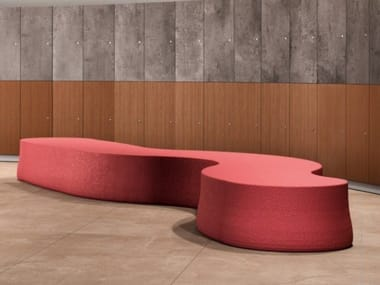 Backless PVC bench seating GIANT BENCH
