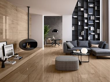 Porcelain stoneware wall/floor tiles with wood effect GIANT