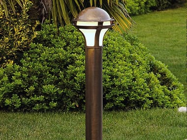 Paletto luminoso in metallo LOGGIA | Paletto luminoso