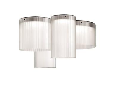 Lámpara de techo LED de vidrio soplado GIASS