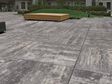 Concrete paving block GIGA 100