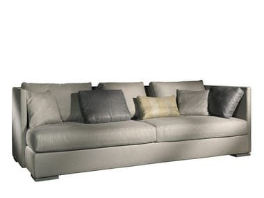 3 seater fabric sofa with removable cover GIL | Sofa