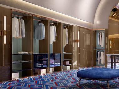 Sectional walk-in wardrobe GILDA | Walk-in wardrobe